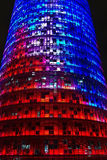 Torre Agbar, Barcelona Stock Images