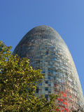 Torre Agbar Royalty Free Stock Photography