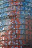 Torre Agbar, Barcelona, Spanien Stockfoto