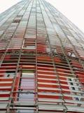 Torre Agbar, Barcelona, Spanien Lizenzfreies Stockfoto