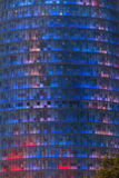 Torre Agbar - Barcelona - Spanien Arkivbild