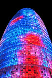 Torre Agbar, Barcelone Photos stock