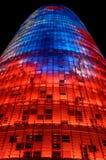 Torre Agbar, Barcelone photos stock