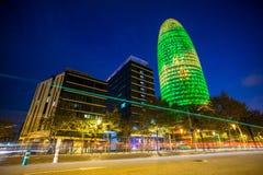Torre Agbar budynek biurowy Obrazy Royalty Free