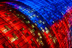 Torre Agbar close-up Royalty Free Stock Image