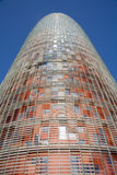 torre agbar de Barcelone Image stock