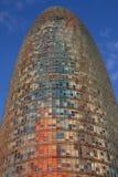 Torre Agbar drapacz chmur Zdjęcie Stock