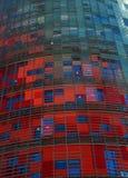 Torre agbar lekki wierza, Barcelona Fotografia Royalty Free