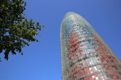 Torre Agbar Stock Images