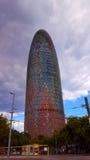 Torre Agbar, Barcelona. Spain Stock Image