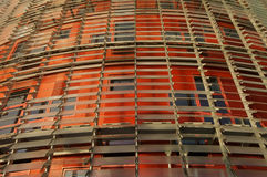 Torre Agbar Tower. Tore Agbar tower in Barcelona designed by Jean Nouvel Royalty Free Stock Photos