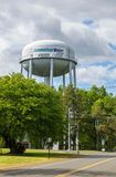 Torre agua-agua de Connecticut en Windsor Locks, Connecticut imágenes de archivo libres de regalías