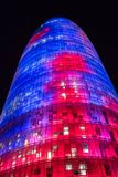 Torre Akbar`s colors royalty free stock image