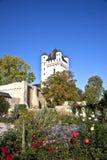 Torre al castello elettorale in Eltville, Germania Fotografia Stock