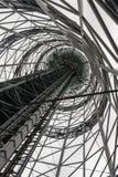 A torre alfabética, Batumi foto de stock