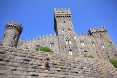 Torre Alfina castle - Italy. Royalty Free Stock Images