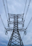 Torre alta elétrica Imagens de Stock Royalty Free