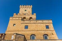 Torre antiga de Cerrano em Itália Construção do século XVI imagens de stock