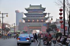 Torre antiga do cilindro em kaifeng Imagens de Stock