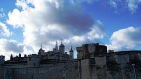 Torre antiga em Grâ Bretanha Imagens de Stock Royalty Free