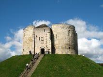 Torre antiga, York, Inglaterra Fotografia de Stock