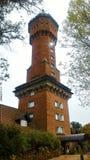 Ancient tower, Punta del Este, Uruguay stock photos