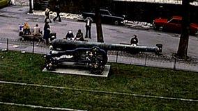 Torre archival del panorama del castillo de Londres almacen de video