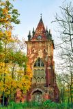 Torre arruinada imagem de stock royalty free
