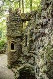 Torre artificial del castillo Imagen de archivo