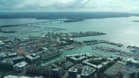 Torre Auckland Nova Zelândia do céu Imagem de Stock Royalty Free