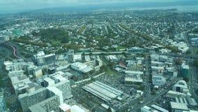 Torre Auckland Nova Zelândia do céu Fotografia de Stock