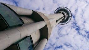 Torre Aukland de la TV Foto de archivo