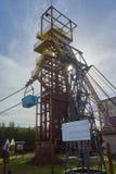 Torre Aumetz Francia della miniera del ferro fotografia stock
