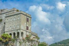 Torre Aurora Dawn Tower in Monterosso al mare, Italy Stock Photo