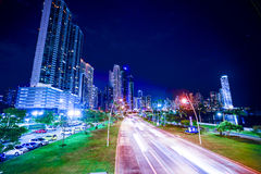 Torre bac at cinta costera 3 in panama city pty Royalty Free Stock Photography
