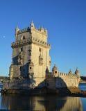 torre belem de lisbon Стоковое Изображение RF
