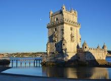 torre belem de lisbon Стоковое Изображение