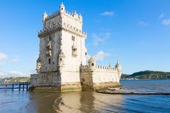 Torre of Belem, Lisbon, Portugal. Torre of Belem, famouse landmark of Lisbon, Portugal stock photos