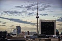 Torre Berlin Germany de la TV fotos de archivo