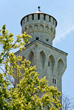 Torre bianca Fotografie Stock Libere da Diritti