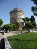 Torre bianca Thessaloniky Fotografie Stock Libere da Diritti