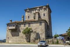 Torre bizantino di Ouranoupolis Fotografia Stock