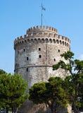 Torre blanca fotografía de archivo