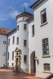 Torre blanca del castillo en Aurich Imagen de archivo