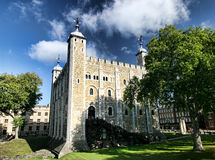 Torre blanca, torre de Londres foto de archivo