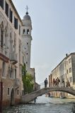 Torre blanca Venecia Fotos de archivo