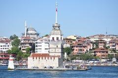 Torre Bosphorus Ä°stanbul, Turquía de las doncellas Fotografía de archivo