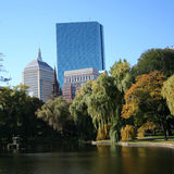 Torre Boston de Juan Hancock Imágenes de archivo libres de regalías