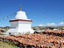 Torre branca para praying 2 Fotografia de Stock