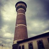 Torre Breda, Mediolan, Włochy zdjęcie royalty free